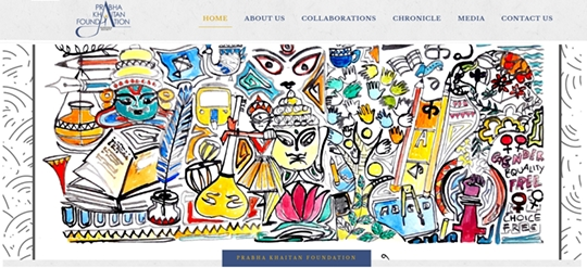 Prabha Khaitan Foundation Website Formally E-launched By Union Minister Nitin Gadkari