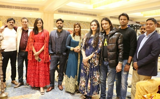 Desistar Samar Singh's Fighter King Grand Muhurat Concluded
