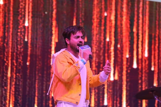 Singer Shree N  – Nothing Great Can't Be Achieved Without Efforts