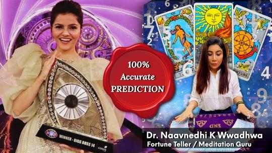 Dr Naavnedhi K Wwadhwa Predicition came true Rubina won Bigg Boss 14
