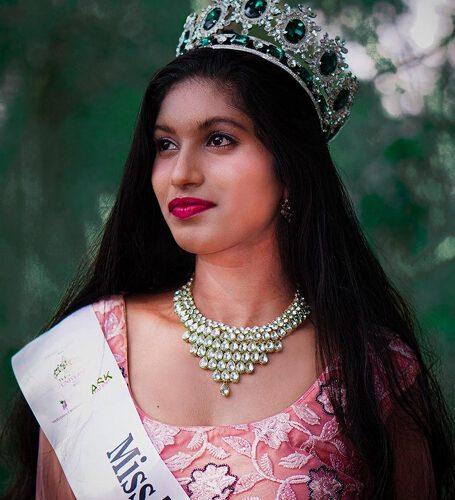 Peeli Krishna Kumar Winner Of  Miss Teen India Universe 2020  Globe A Virtual Edition Presented By Ashwin Rajput